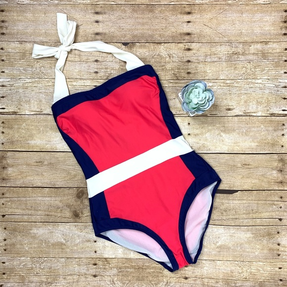 0a307c6c457 Boden Other - Boden Santorini One Piece Swimsuit US6/UK10